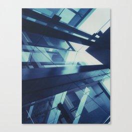 Federation Square, Polaroid Canvas Print