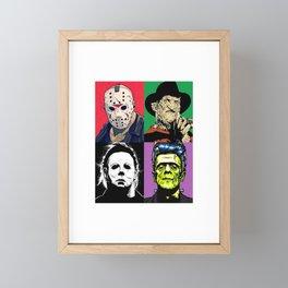 Horror Pop Art Framed Mini Art Print