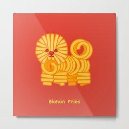 Bichon Fries Metal Print