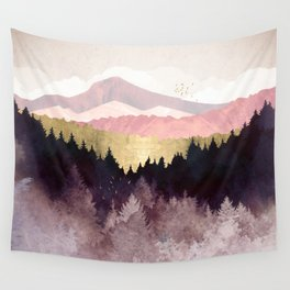 Plum Forest Wall Tapestry