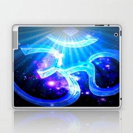 Galaxy Om Blue Purple Laptop & iPad Skin