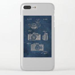 Cazin Camera patent art Clear iPhone Case