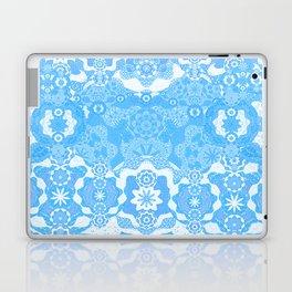 Boujee Boho Delicate Blue Lace Laptop & iPad Skin