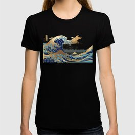 Great Waves by Hokusai at Kanagawa T-shirt
