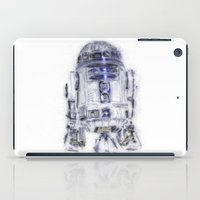 r2d2 iPad Cases featuring R2D2 by KitschyPopShop
