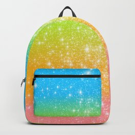 Too Blessed to Be Stressed Pastel Rainbow Series #1 Backpack