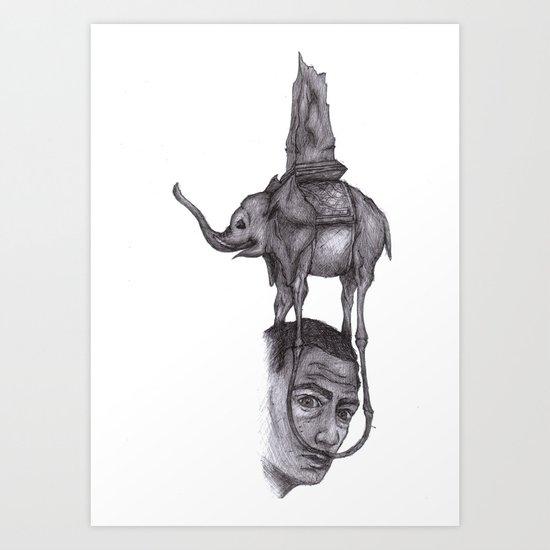 Dali's Dream Art Print