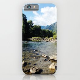 I Go Where The Mountains Take Me iPhone Case