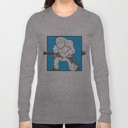 Squatch Gets Lunch Long Sleeve T-shirt