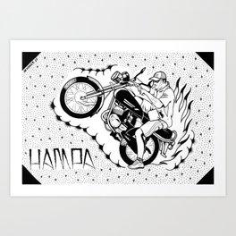 hampa Art Print