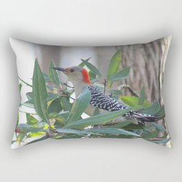 Red-Bellied Woodpecker Rectangular Pillow
