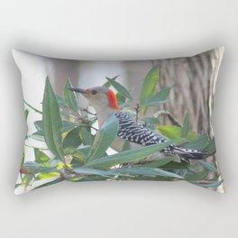 Red-Bellied Woodpecker Rectangular Pillow