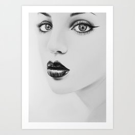 Can't take my eyes off you Art Print