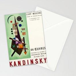 Kandinsky Exhibition poster 1957 Stationery Cards