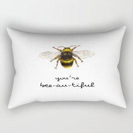 You are beeautiful Rectangular Pillow