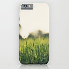 Summer eve grass Slim Case iPhone 6s