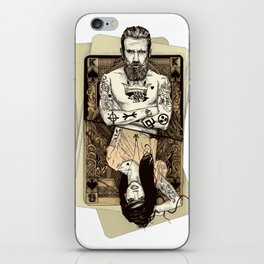 The second half (King) iPhone Skin