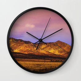 Photon Landslide Wall Clock