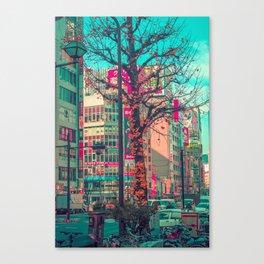 TOKYO CITY TREE Canvas Print