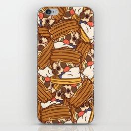 Puglie Waffles iPhone Skin