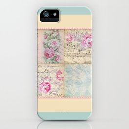 Shabby Chic 2 iPhone Case