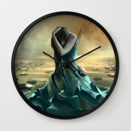 Vague à l'âme Wall Clock