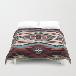 American Native Pattern No. 67 Duvet Cover