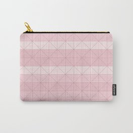 Geometric pattern antique pink Carry-All Pouch