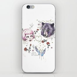 The Stars Fell Into My Hands iPhone Skin