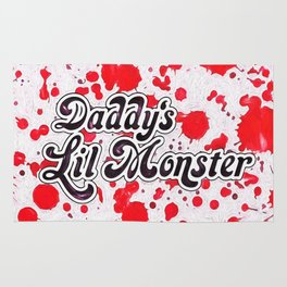 Daddy's Lil Monster Rug