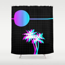 Like the 80s ? Shower Curtain