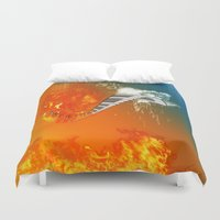 piano Duvet Covers featuring Piano by nicky2342