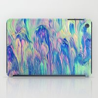 northern lights iPad Cases featuring Northern Lights by Meg O Studio