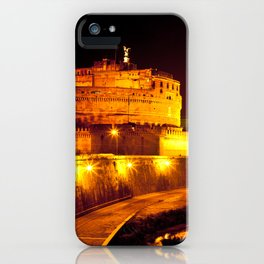 Castel sant'angelo Roma iPhone Case