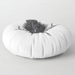 Onopurdum Acanthium Floor Pillow