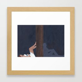 Take Her To The Forest Framed Art Print