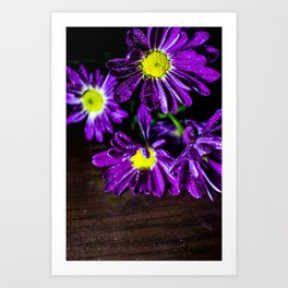 Floral Untitled .17 Art Print
