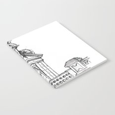 Bell gable Notebook