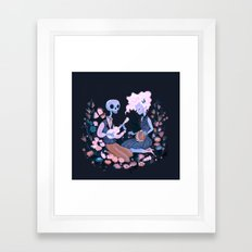 Rhythm of Grief Framed Art Print