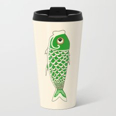 Koi Green Travel Mug