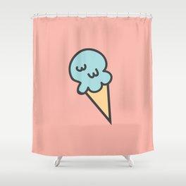 Cotton Candy Ice Cream Shower Curtain
