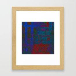 Modern Mondrian Framed Art Print