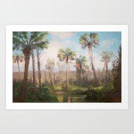 Heart of the Everglades Art Print