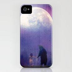 Follow your inner moonlight iPhone (4, 4s) Slim Case