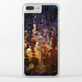 City of Lights Clear iPhone Case