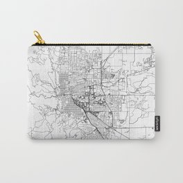 Boulder White Map Carry-All Pouch