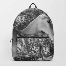 Gazelle (Black and White) Backpack