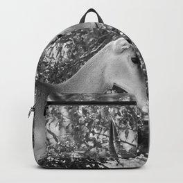 Gazelle (Black and White) Backpack