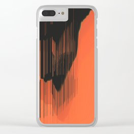 Stalactites Clear iPhone Case