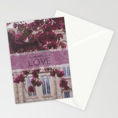 no regrets, just love Stationery Cards